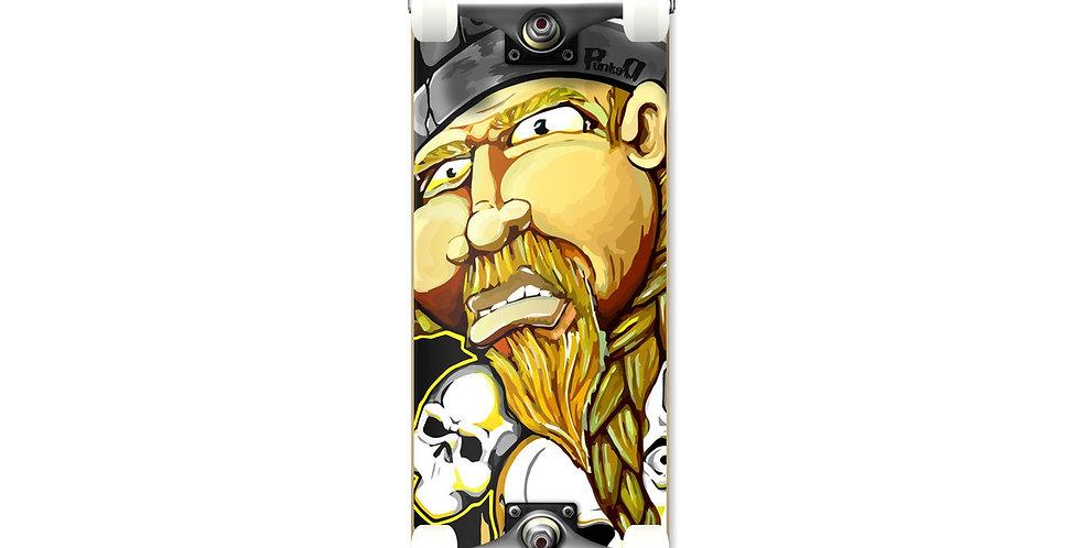 "Yocaher Skateboards: Graphic Complete Skateboard 7.75"" - Viking"