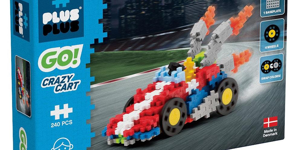 Plus-Plus: GO! Crazy Cart - 240pc