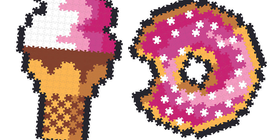 Fat Brain Toy Co: Jixelz 700 pc Set - Sweet Treats