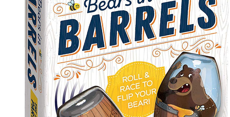 Blue Orange Games: Bears in Barrels