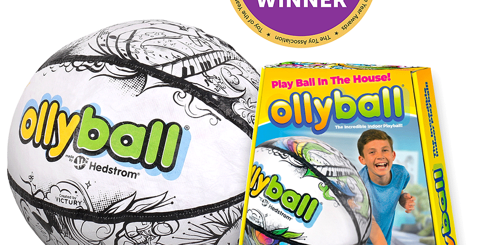 Victury Sports: OLLYBALL - THE ULTIMATE INDOOR PLAY BALL!