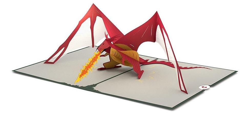 Dragon 3D card