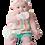 Thumbnail: Malarkey: Munch Mitt - Pastel Pink Hearts