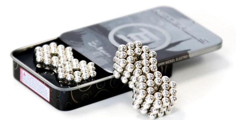 Zen Magnets: Neoballs 216 5mm Electro Plated - Nickel