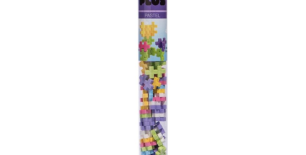 Plus-Plus: Mini Maker Tube - 70pc Pastel Mix