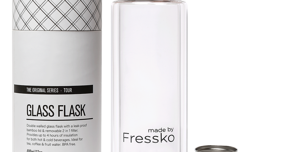 Made by Fressko Tour 13oz - Tea | Fruit Infuser Water Bottle