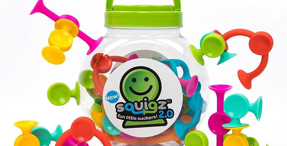 Fat Brain Toy Co: Squigz 2.0 - 36 piece