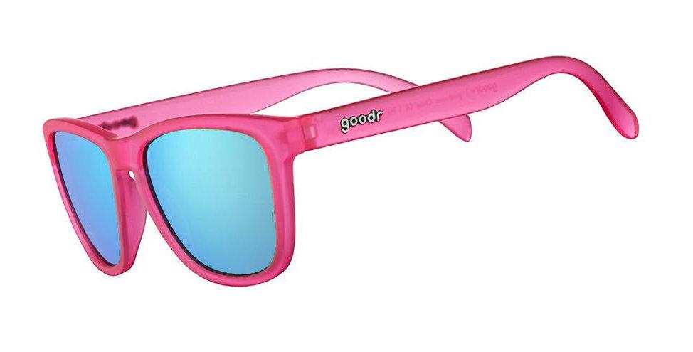 Goodr Sunglasses: Flamingos On A Booze Cruise
