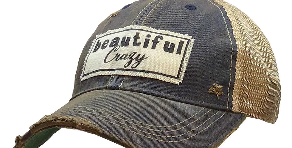 Vintage Life: Beautiful Crazy Distressed Trucker Hat Baseball Cap