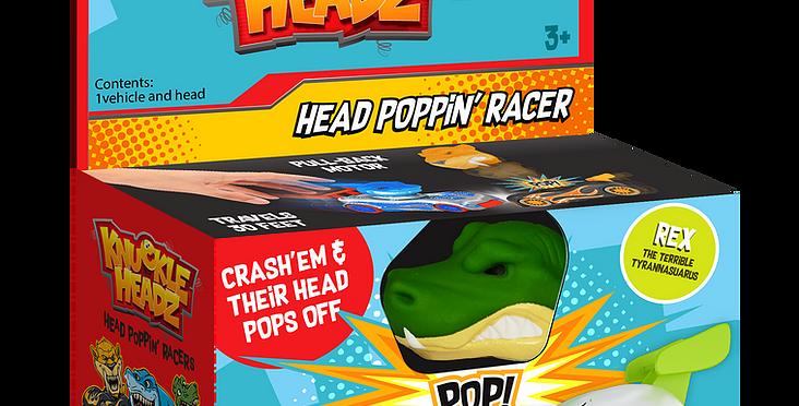 SD Toyz: Pull-Back Knuckle Headz - Rex