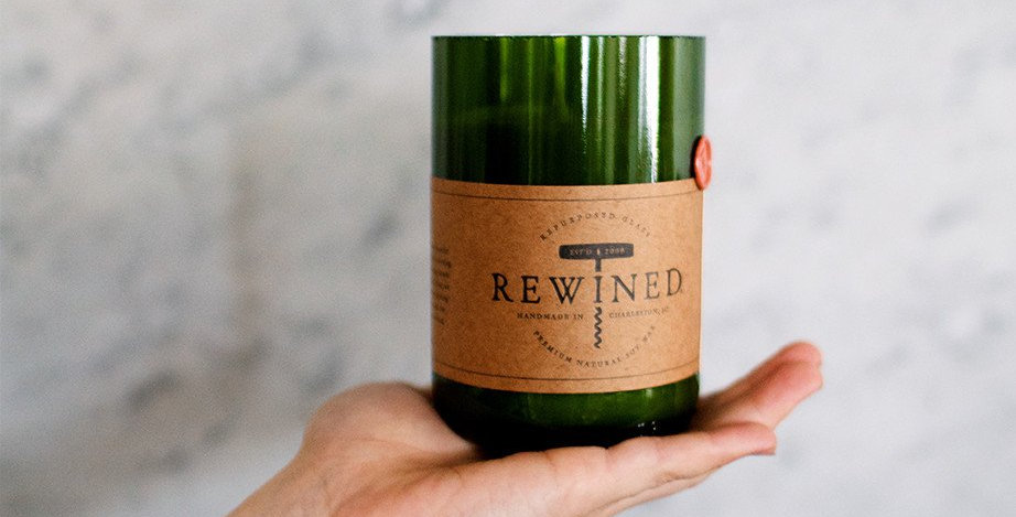 Rewined: Merlot Candle