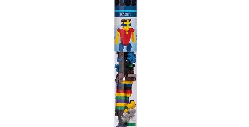 Plus-Plus: Mini Maker Tube - 70pc Basic Mix