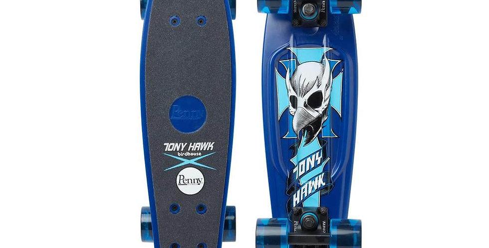 """Penny Skateboard - 22"""" Hawk Crest (Blue)"""
