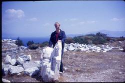 Rhamnous - Chris & Statue