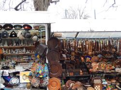 Kiev street market