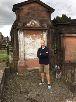Chris in front of McNaught plot