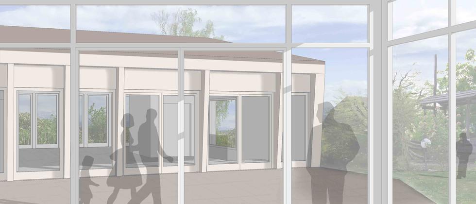 Umbau   Erweiterung Pfarreizentrum