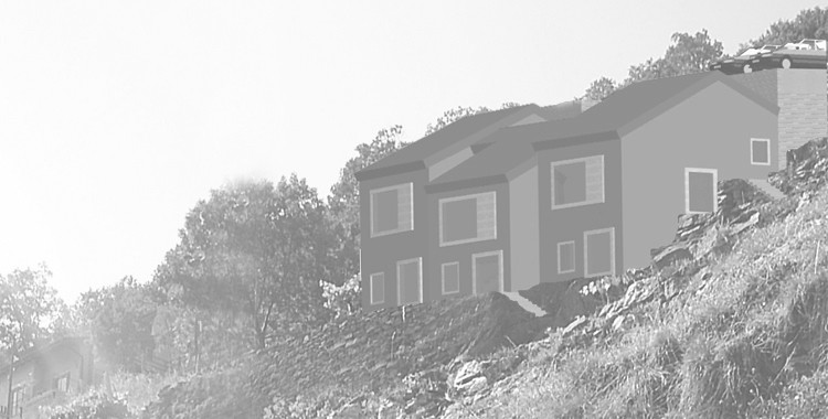 Testplanung Neubau Ferienhäuser