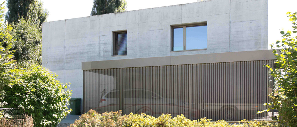 Gartenpavillon für Einfamilienhaus