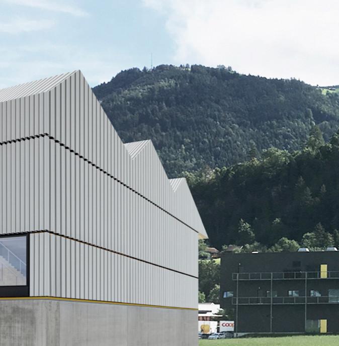 Studie Neubau Geschäftsgebäude