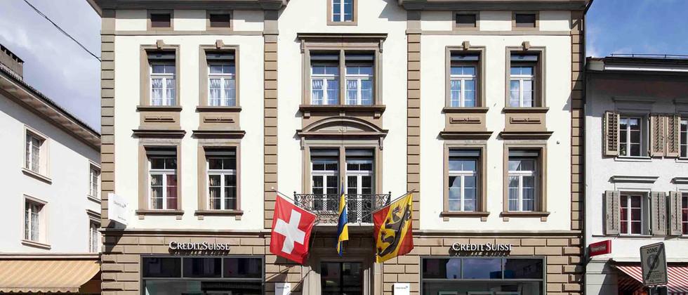 Totalsanierung Credit Suisse