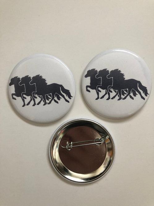 Icelandic Horse button!