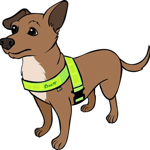 Reflective Harness Elastic- for small dogs