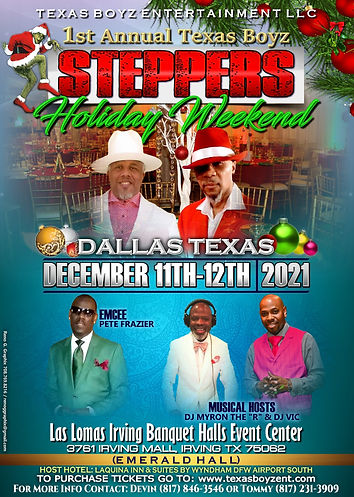 Texas Boyz Ent. LLC Steppers Holiday Wee