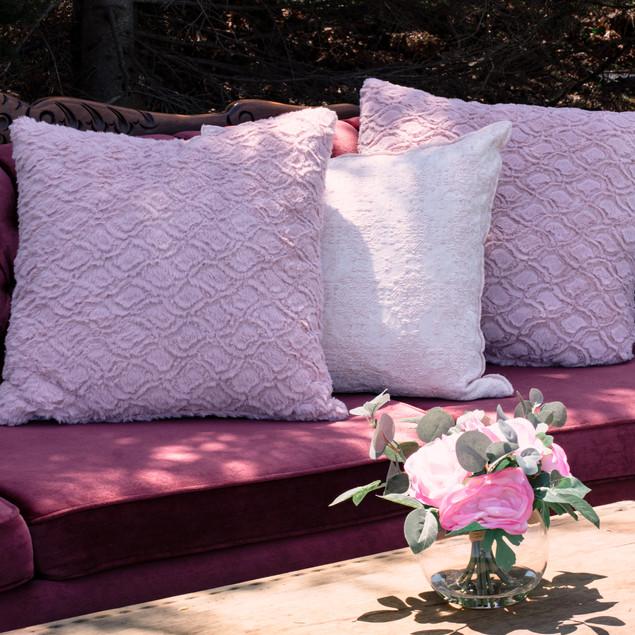 BLUSH | set of 3 pillows