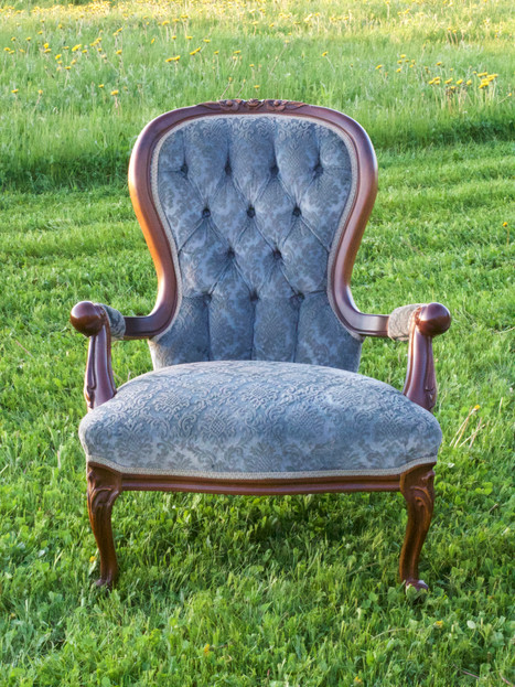 LOUISE | victorian arm chair
