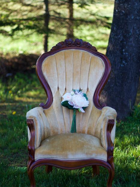 MARILLA   lady's victorian armchair