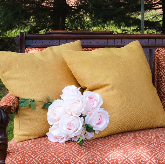 MUSTARD | set of 2 pillows