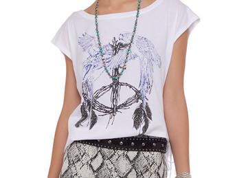Camisetas estampadas para um look maravilhoso!