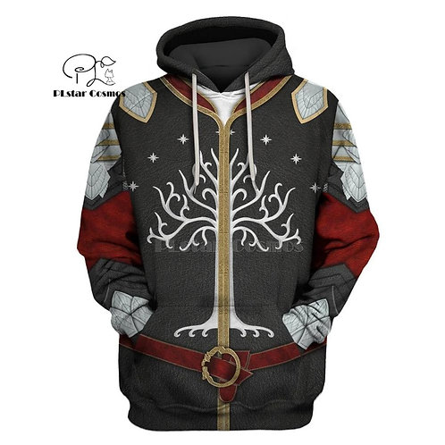 PLstar Cosmos Tree of Gondor Decal Sticker 3d Hoodies/Sweatshirt