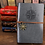 Thumbnail: Retro Traveler's Notebook  PU Leather Pirate Anchors Spiral Journal