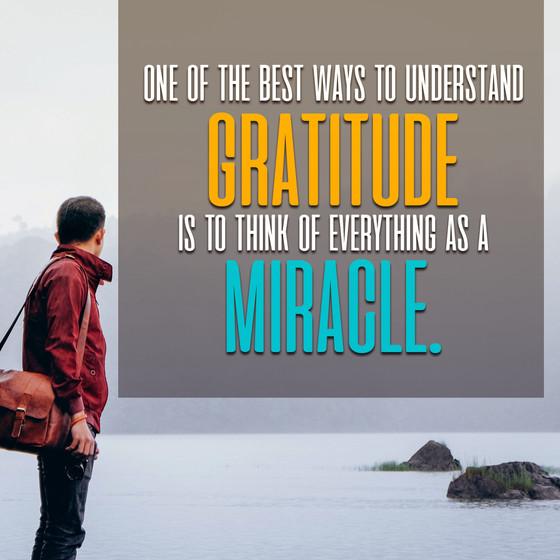 Attitude of Gratitude Series - Gratitude Leads to Abundance