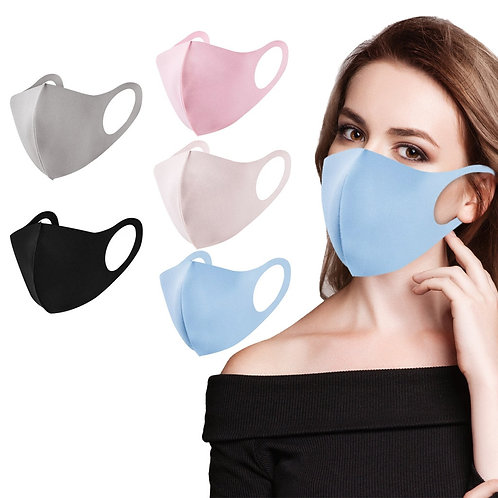 Fast Delivery Within 24 Hours 5PC Winter Mask Filter Face Mouth Protection