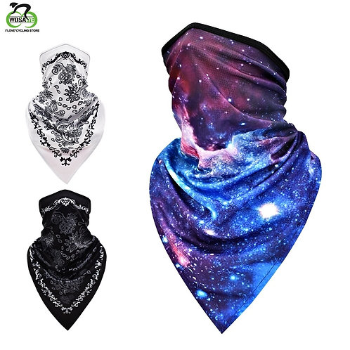 WOSAWE Skull Face Mask Scarf Cool