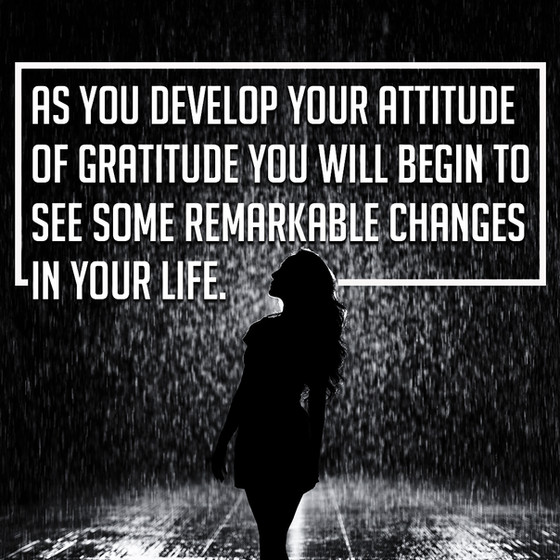 Attitude of Gratitude Series - Developing the Habits of Gratitude