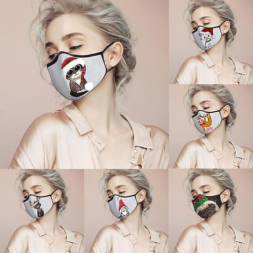 Christmas Party  Print Rescue Breathable Multi-Purpose Face Cover Reuse Mask