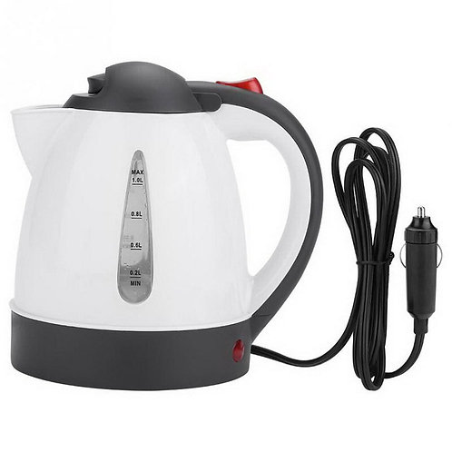 Car Electric Kettle Insulation Anti-Scald  Heater Boiling Water Durable Tool