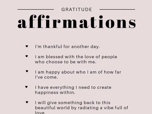 Positive Affirmation Series - Tips For Successful Affirmations
