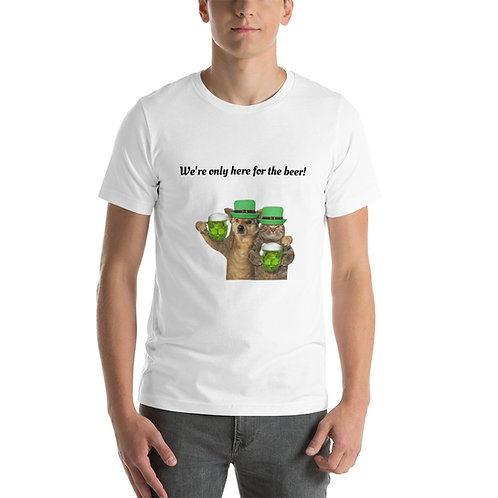 St. Paddy's Day T-Shirt - Here for the Beer