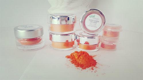 Sunset Orange Loose Eye Shadow | Raw Beauty Minerals
