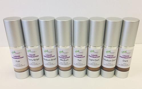 Liquid Foundation | Raw Beauty Minerals | Vegan BB Cream