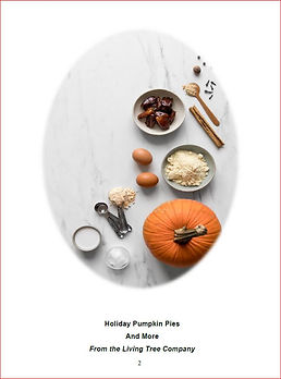 Pumpkin Pies and More E-Cookbook Cover.J
