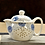 Thumbnail: Chinese Kung Fu Ceramic Teapot With Strainer Handmade Dragon Pattern