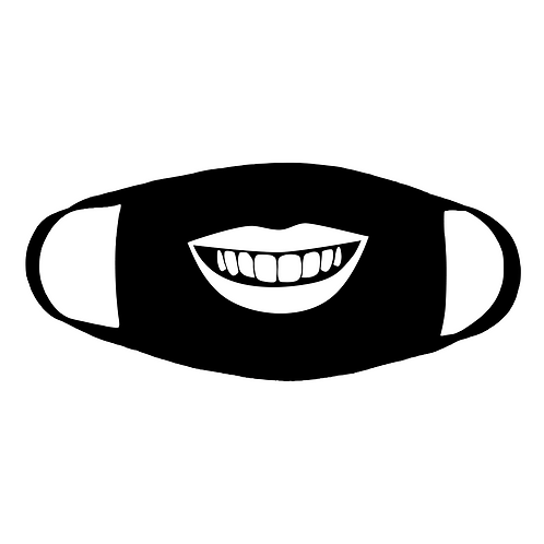 Smile Big Cotton Face Mask