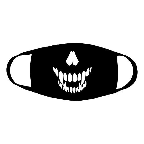 Fangs Out Cotton Face Mask
