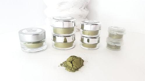 Green Apple Loose Eye Shadow | Raw Beauty Minerals